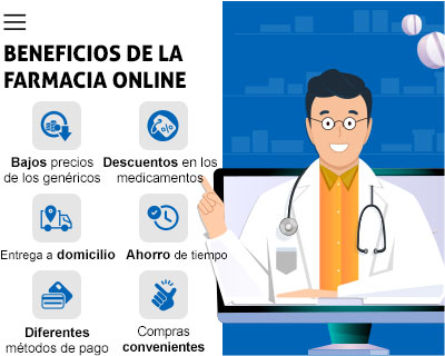 Beneficios de comprar pastillas online